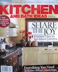 Connecticut Kitchen and Bath Featured in Kitchen and Bath Ideas Magazine